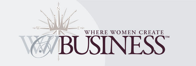 Where women create business logo